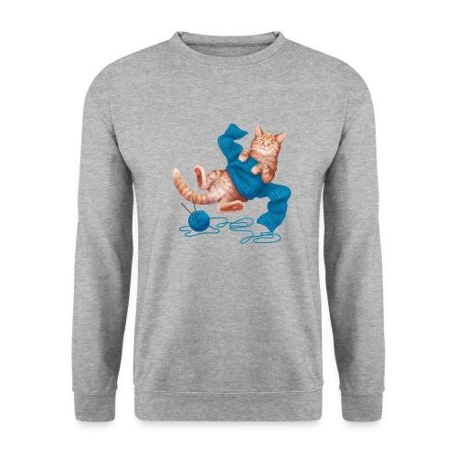 Cozy Cat - Männer Pullover