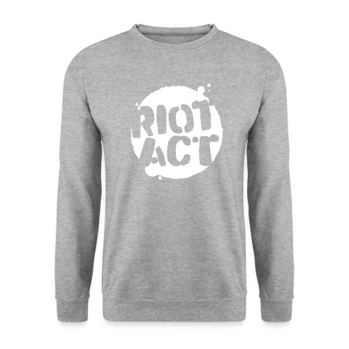 White (large) - Men's Sweatshirt