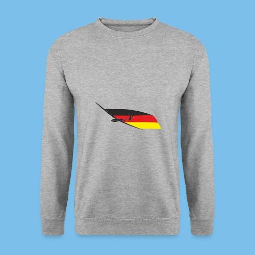 deutschlandflagge segelflugzeug Segelflieger - Männer Pullover