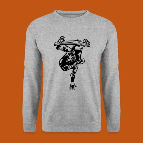 Skater / Skateboarder 03_schwarz - Unisex Pullover