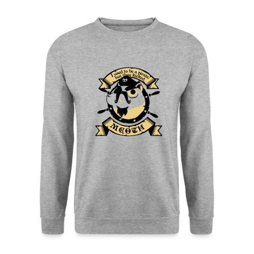 Katze Pirat Spruch - Männer Pullover