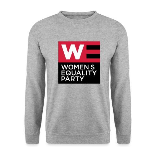 WE_LOGO_RED_CMYK - Men's Sweatshirt