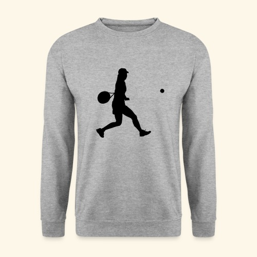 tennis woman 2 - Sweat-shirt Homme