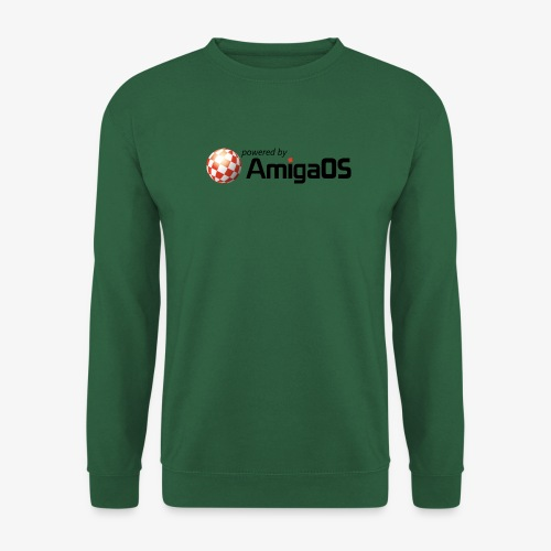 PoweredByAmigaOS Black - Unisex Sweatshirt