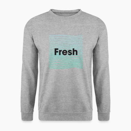 Fresh - noir - Sweat-shirt Unisexe