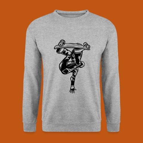 Skater / Skateboarder 03_schwarz - Männer Pullover