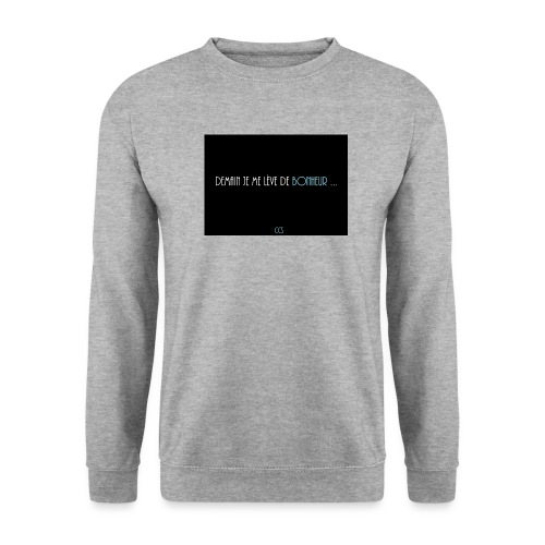 demain png - Sweat-shirt Homme