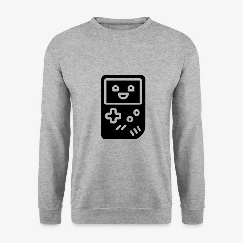 Smiling game console (black, inverted) - Men's Sweatshirt