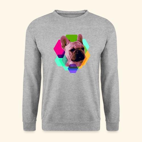 French Bulldog head - Sweat-shirt Homme