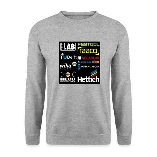 tshirt 2 rueck kopie - Unisex Sweatshirt