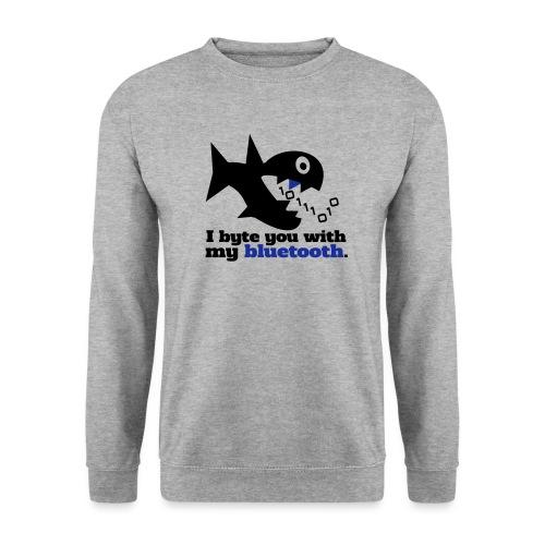 Byte you Nerd Fisch Blueooth - Männer Pullover