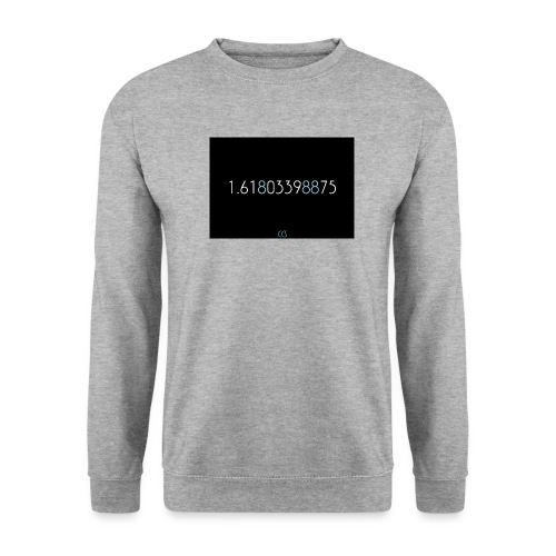 nombre d or png - Sweat-shirt Homme