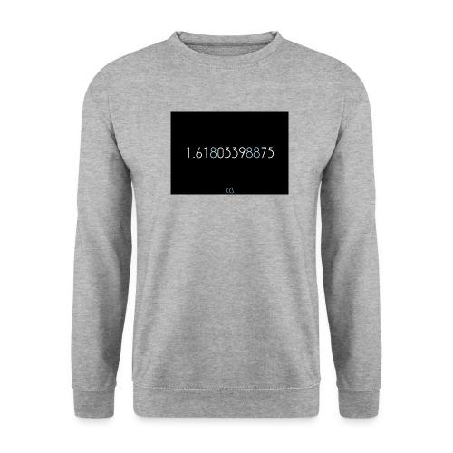 nombre d or png - Sweat-shirt Unisexe