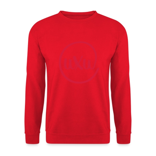 UXU logo round - Unisex Sweatshirt