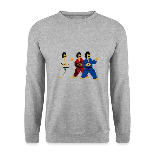 8 bit trip ninjas 1 - Men's Sweatshirt