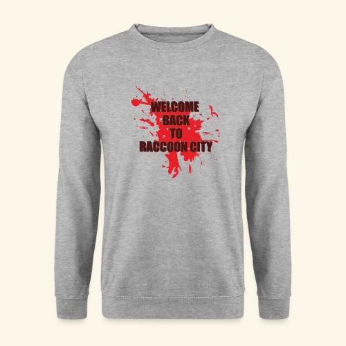 Welcome Back to Raccoon City TEXT 01 - Men's Sweatshirt