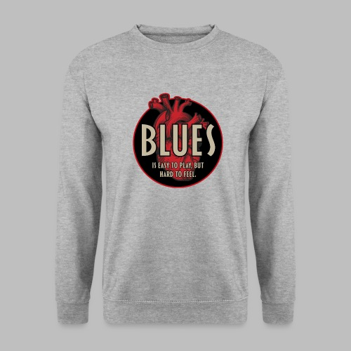 Blues is easy to play - Unisex Pullover