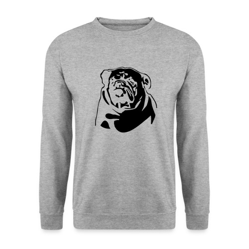 English Bulldog - negative - Miesten svetaripaita
