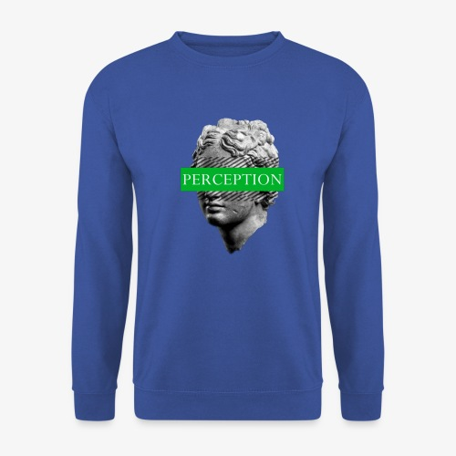 TETE GRECQ GREEN - PERCEPTION CLOTHING - Sweat-shirt Unisexe