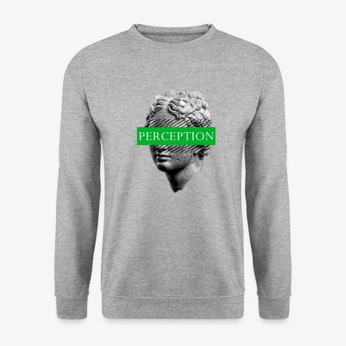 TETE GRECQ GREEN - PERCEPTION CLOTHING - Sweat-shirt Unisex