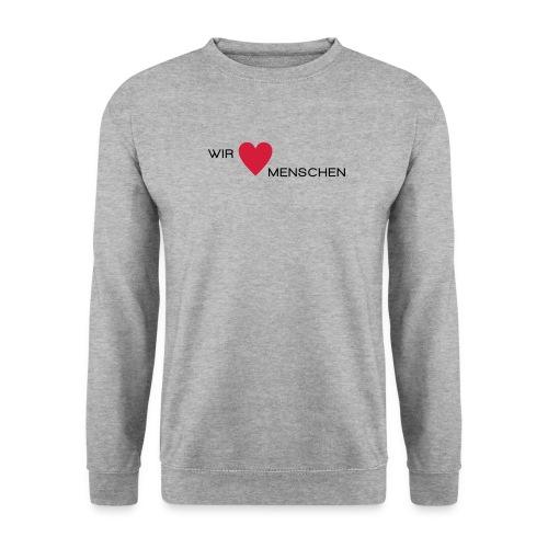 Wir lieben Menschen - Männer Pullover
