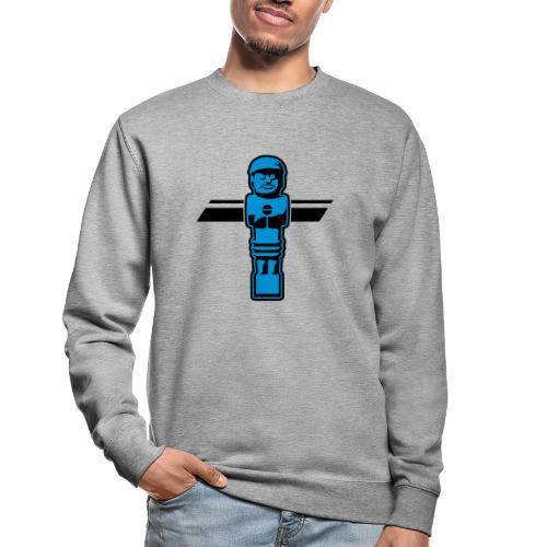 Soccerfigur 2-farbig - Kickershirt - Unisex Pullover