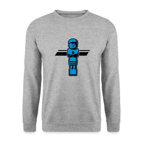 Soccerfigur 2-farbig - Kickershirt - Männer Pullover