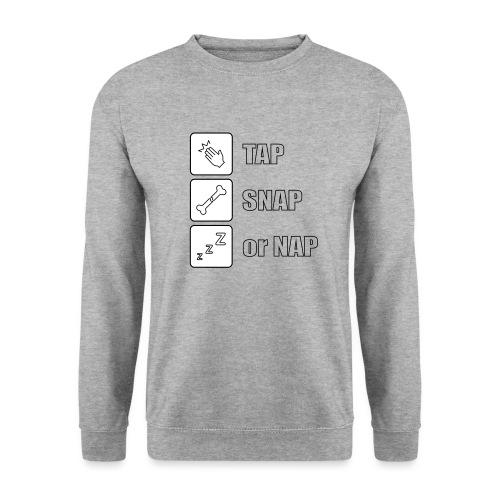 tap snap or nap - Bluza unisex