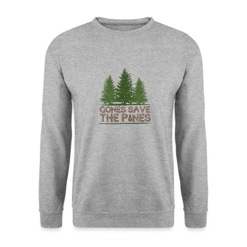 Gones save the pines - Sweat-shirt Homme