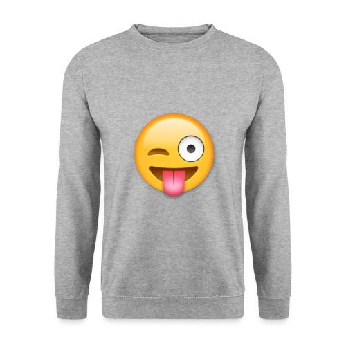 Winking Face - Männer Pullover