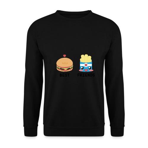 hamburger - Felpa unisex