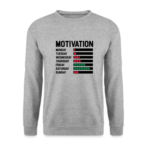 Wochen Motivation - Männer Pullover