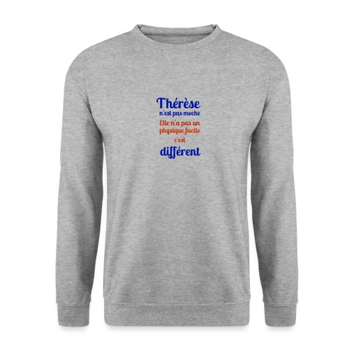Thérèse - Sweat-shirt Unisexe