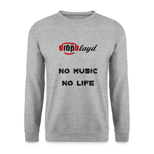 dropblayd Merch - No Music No Life - Unisex Pullover