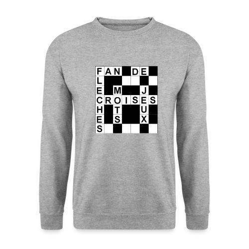 Fan de mots croisés - Sweat-shirt Homme