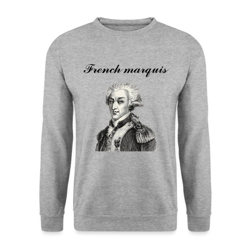 Sweat-shirt French marquis n°1 - Sweat-shirt Unisex