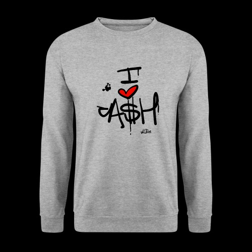 I love Cash - Unisex sweater