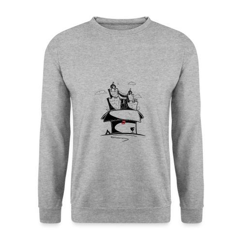 Kartonnen wereld - Sweat-shirt Homme
