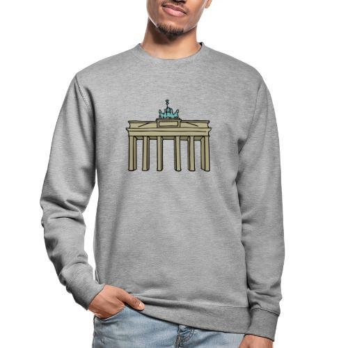 Porte de Brandebourg BERLIN c - Sweat-shirt Unisexe