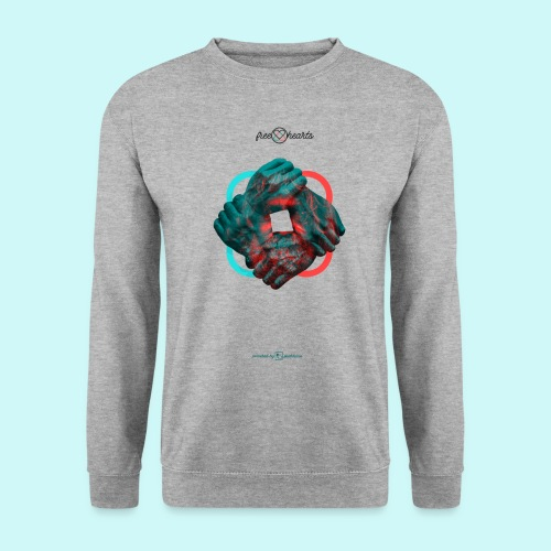 four hands for free hearts without scripture - Männer Pullover
