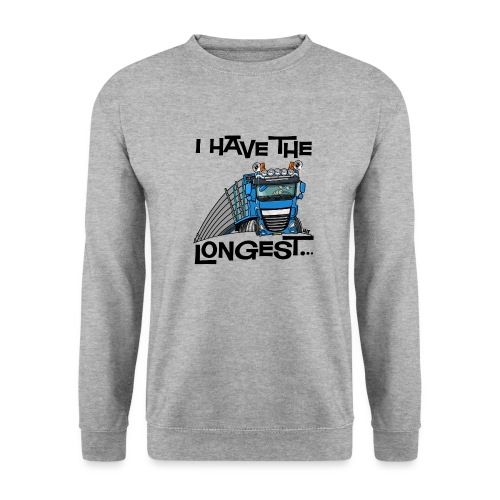 0700 D Truck I have the longest loads (FRONT+BACK) - Mannen sweater