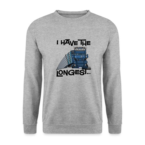 0780 S Truck I have the longest loads (FRONT+BACK) - Mannen sweater