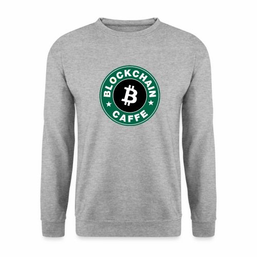 BlockChain Caffè Logo - Felpa unisex