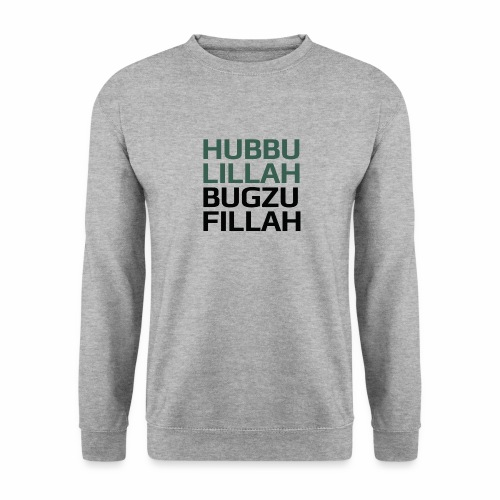 HUBBU - Unisex sweater