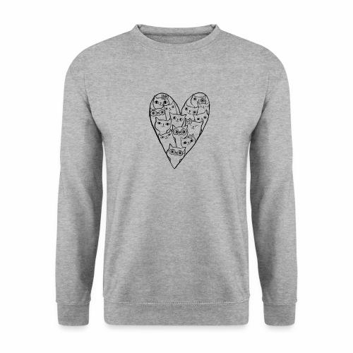 I Love Cats - Unisex Sweatshirt