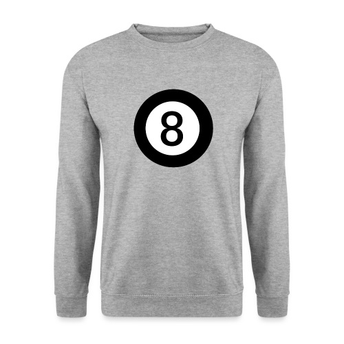 Black 8 - Men's Sweatshirt