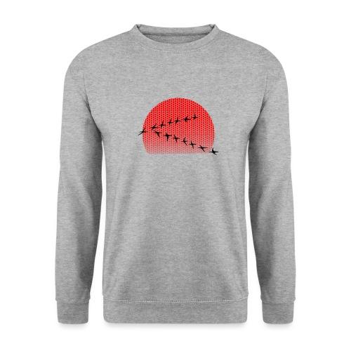 Dots Sonnenuntergang - Männer Pullover