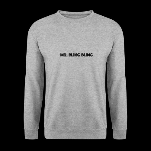 bling bling - Unisex Pullover