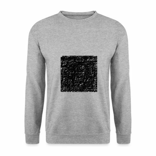 Kritzel-Design - Männer Pullover