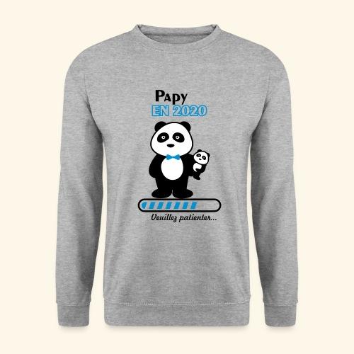 papy en 2020,Bientôt Papy,futur grand-père - Sweat-shirt Homme